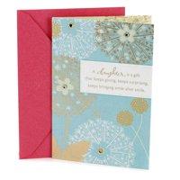 Hallmark Birthday Card for Daughter (Flowers)