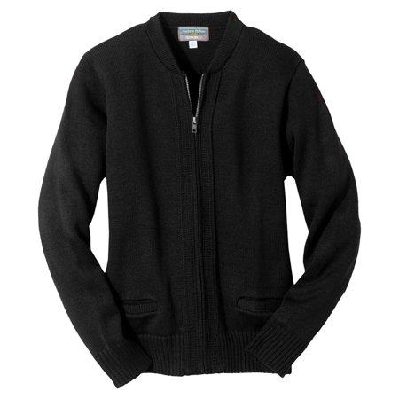 Edwards Garment Men's Full Zip Cardigan Sweater