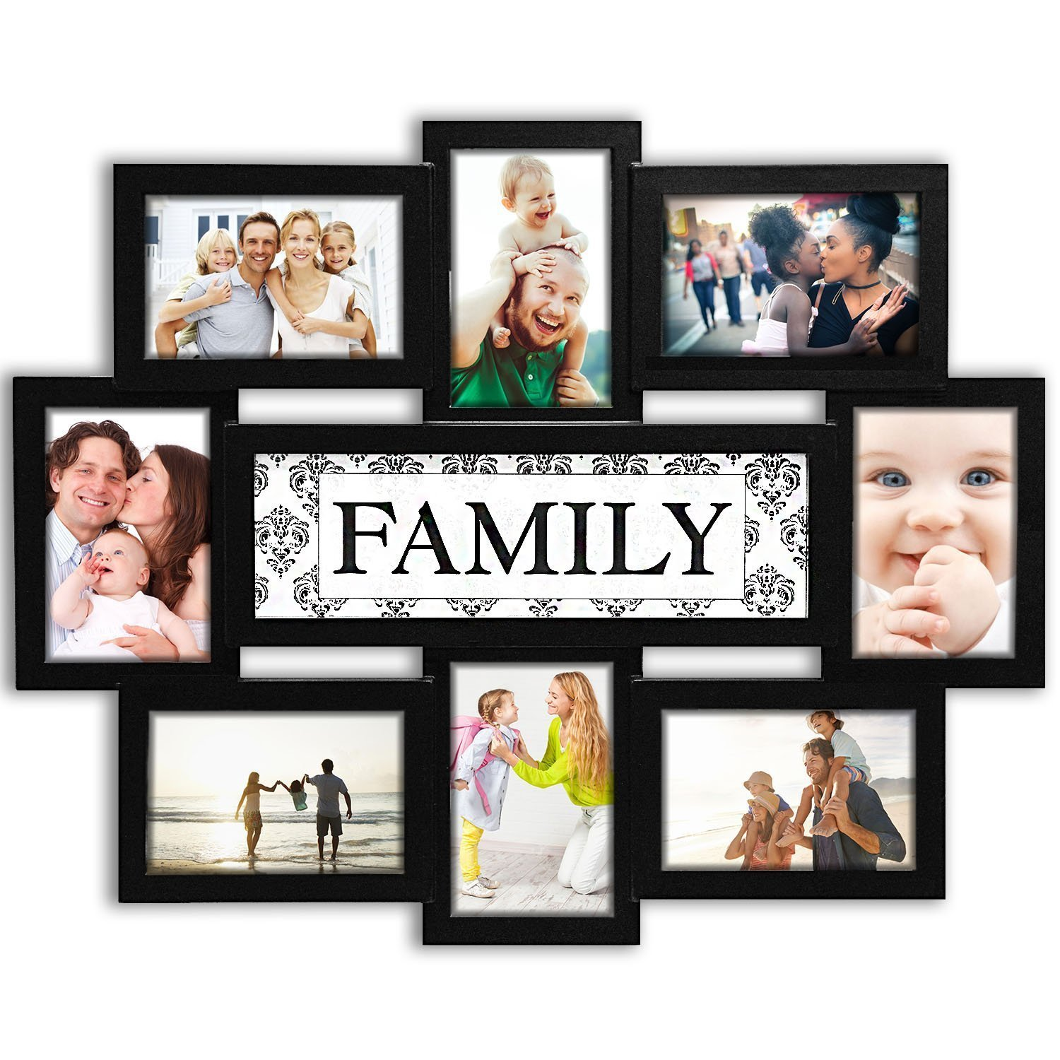 Dl Furniture Photo Frame 22x17 Wood Tone Family Picture Frame