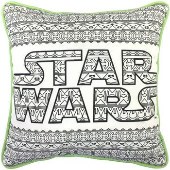 Star Wars Aztec Color Me Pillow