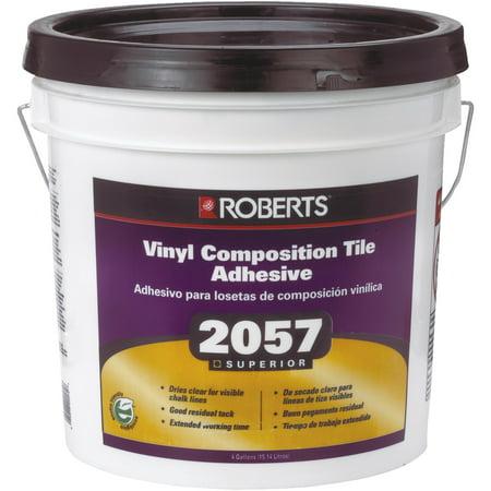 Roberts Clear Thin Spread Floor Tile Adhesive - Walmart com