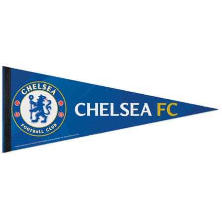- Chelsea FC Official PREMIER LEAGUE 12 inch  x 30 inch  Premium Pennant by Wincraft