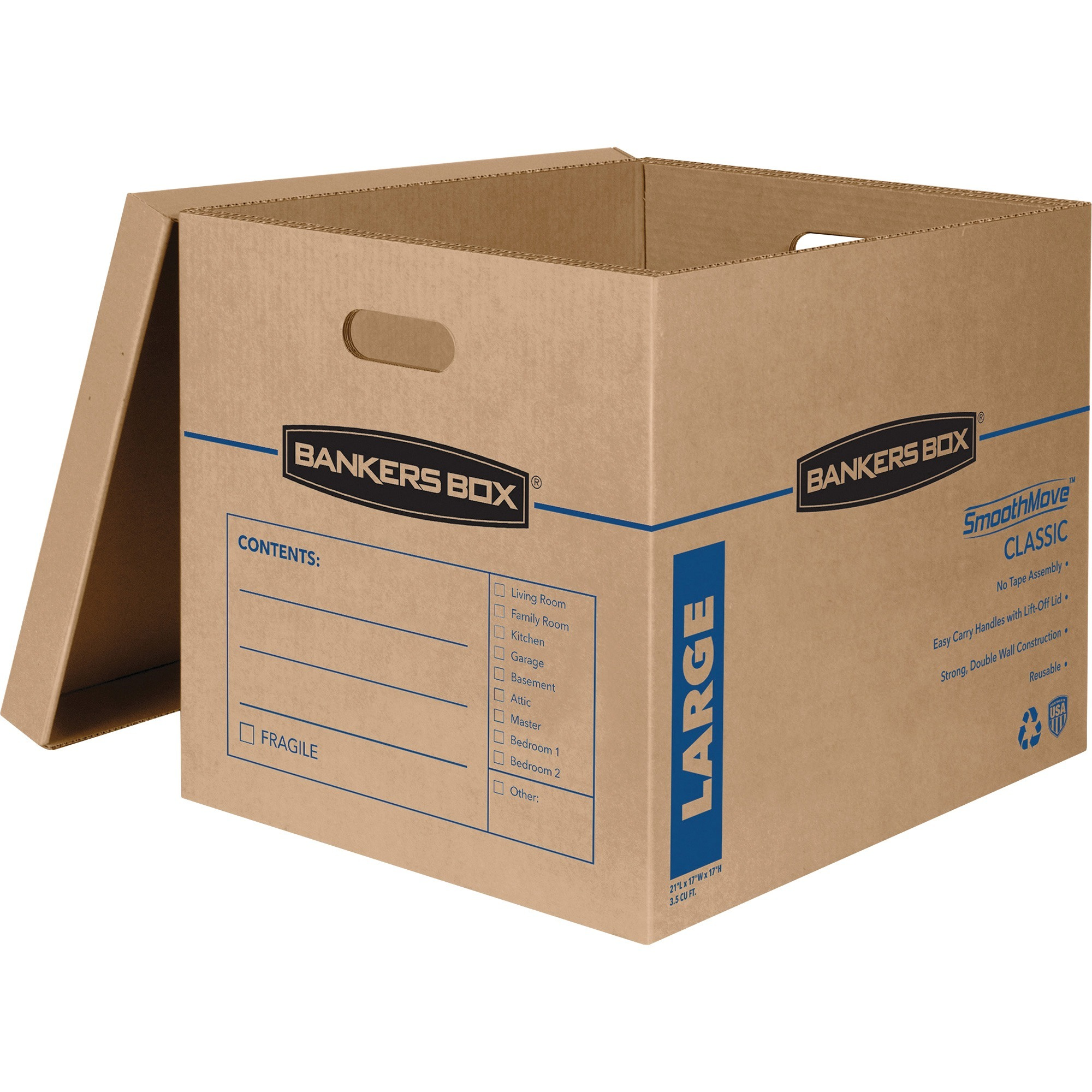 Details about  /50-24 x 6 x 8 Corrugated Shipping Boxes Storage Cartons Moving Packing Box