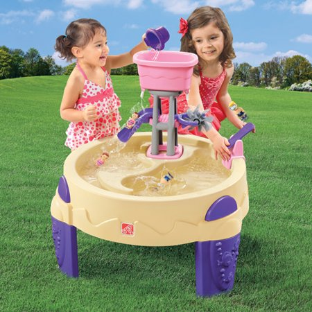 Step2 Big Splash Water Park Pink Walmart Com