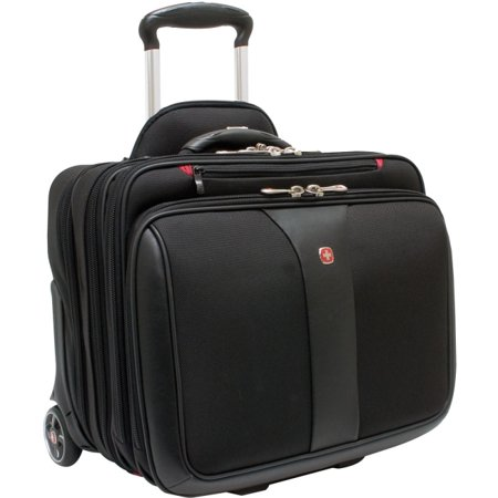 Swiss Gear 'Patriot' Rolling Laptop Computer Case, (Laptop Overnight Case)