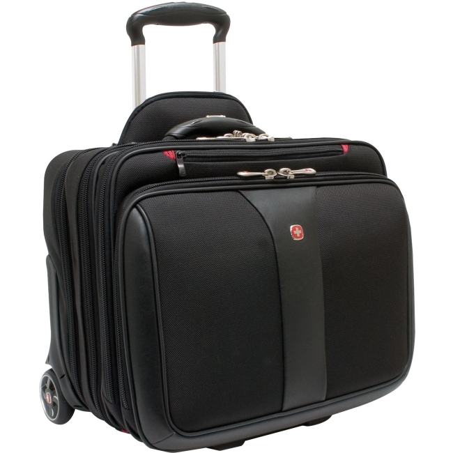 Swiss Gear 'Patriot' Rolling Laptop Computer Case, Black