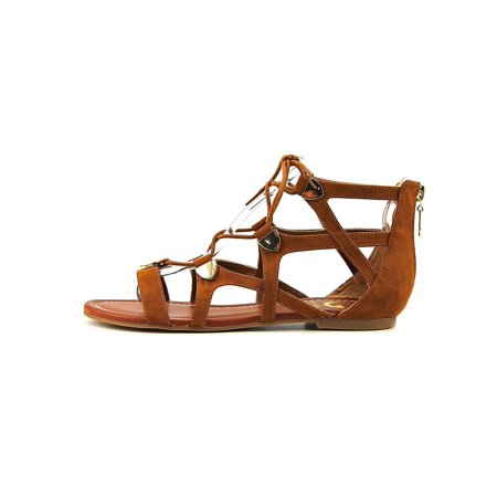 b24d5efb1ab1 G By Guess Womens Lewy Fabric Open Toe Casual Gladiator Sandals -  Walmart.com