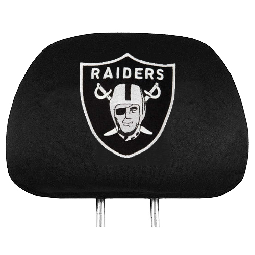 NFL Oakland Raiders Headrest Covers