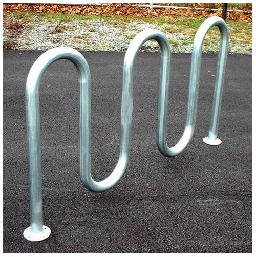 Loop-Style Galvanized Bike Rack