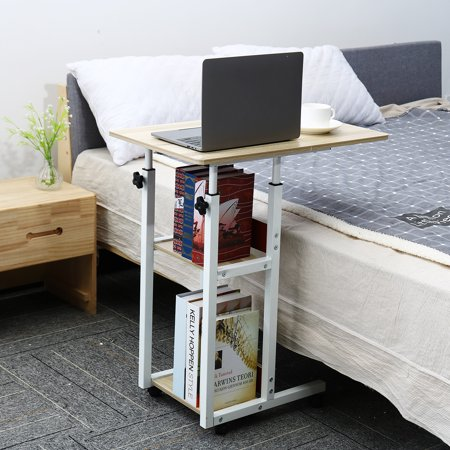 Mobile Laptop Stand Desk Lap Bedside Table Tray Sofa Multi-function Adjustable - image 2 of 5
