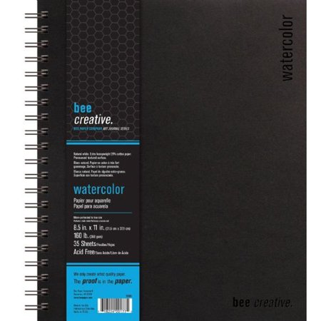Price Ea Bee Paper B20065 Bee Creative Watercolor Book 8 5   X 11