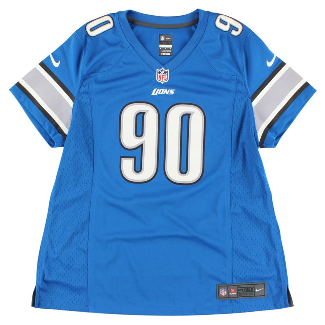 ... best price nike womens detroit lions ndamukong suh replica jersey blue  cc9bb ef9e7 2434cea9d