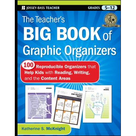 The Teacher's Big Book of Graphic Organizers, Grades 5-12 : 100 Reproducible Organizers That Help Kids with Reading, Writing, and the Content (Beginning Middle End Graphic Organizer First Grade)
