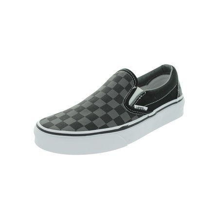 644af77de089 Vans - Vans VN-0EYEBPJ   Unisex Classic Slip-On Checkerboard Black Pewter  Skate Shoe ( 8 B(M) US Women   6.5 D(M) US Men) - Walmart.com