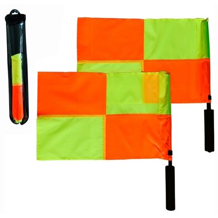 Referee Flag (Donal Athletic Soccer Referee Flags (Checkered Pattern) )