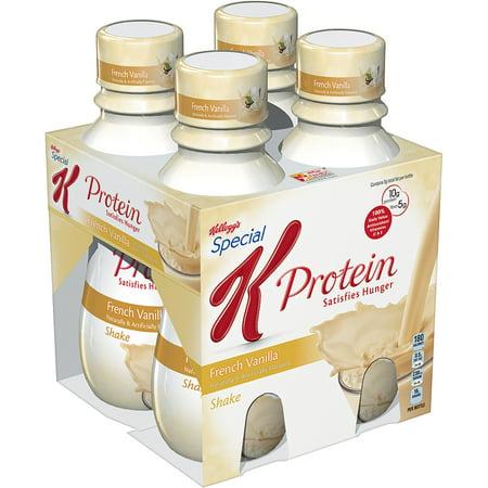 French vanilla protein shake