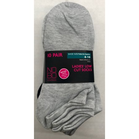 Nobo 10pk Low Cut Socks