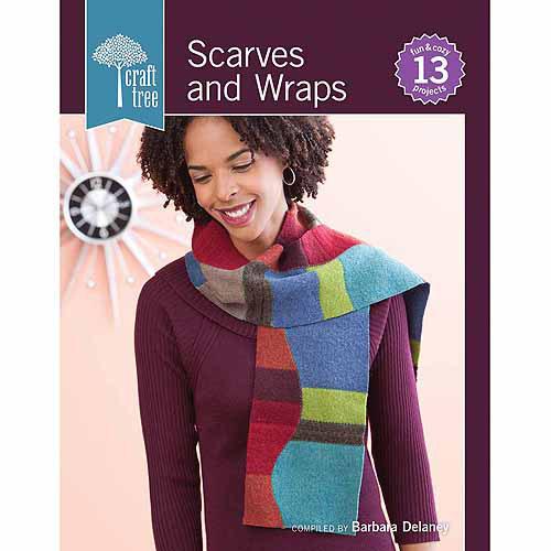 Interweave Press, Craft Tree Tree Scarves and Wraps