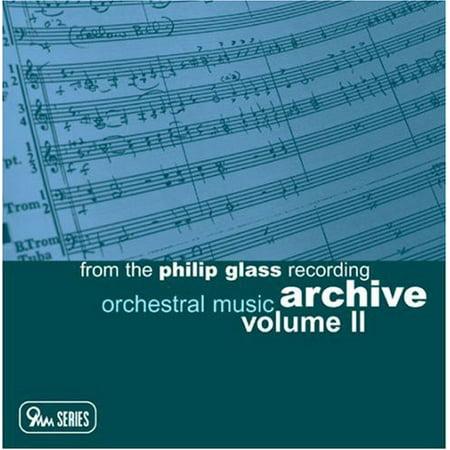 Orchestral Music: Philip Glass Recording Archive 2 ()