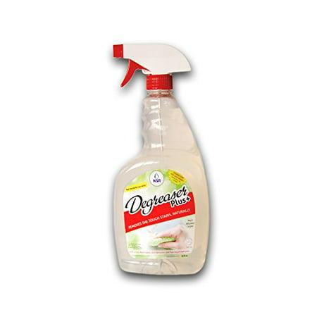 NSR Multi Purpose Cleaner Degreaser Spray 32 oz, Organic, Natural, Safe on Skin, Environment