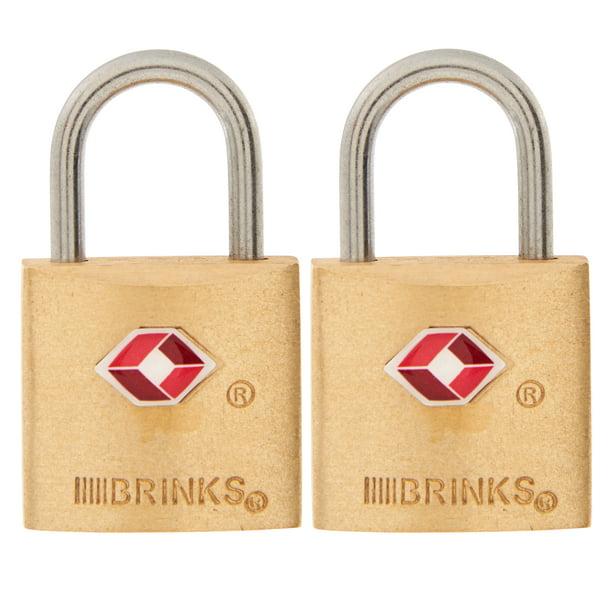 20//25mm SOLID BRASS Small Padlock Mini Luggage Lock Bag Travel Suitcase Zip