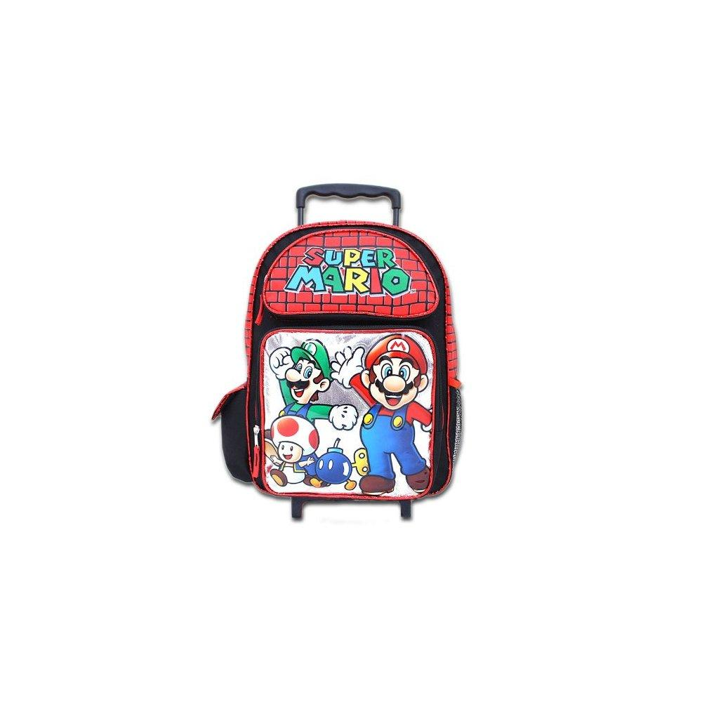 accessory innovations roller backpack bag, super mario