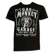 Gas Monkey Blood Sweat Beers T-Shirt-Medium