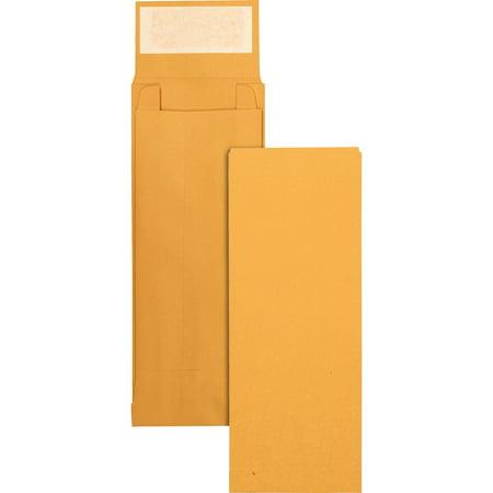- Quality Park, QUA93331, Kraft Redi-strip Expansion Envelopes, 25 / Pack, Kraft