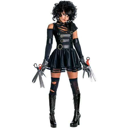 Edward Scissorhands Miss Scissorhands Adult Halloween Costume](Edward Scissorhands Halloween Makeup)
