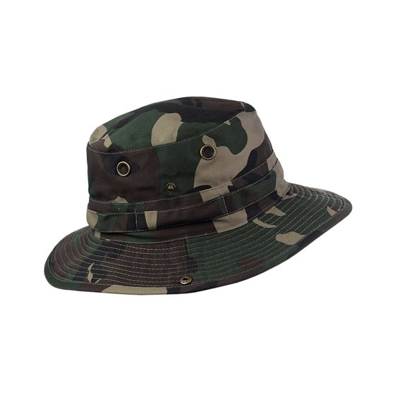 e5a30ea8632 NYFASHION101 - NYFASHION101 Men s Crushable Snap Brim Cotton Outdoor Bucket  Sun Hat