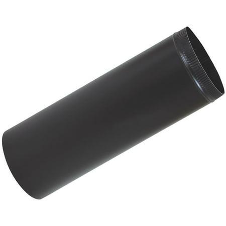 Imperial Mfg Group 3x24 Black Stove Pipe BM0343