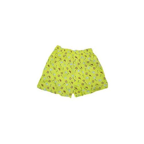 Peace frogs 15025 x small adult breakfast boxer yellow extra small