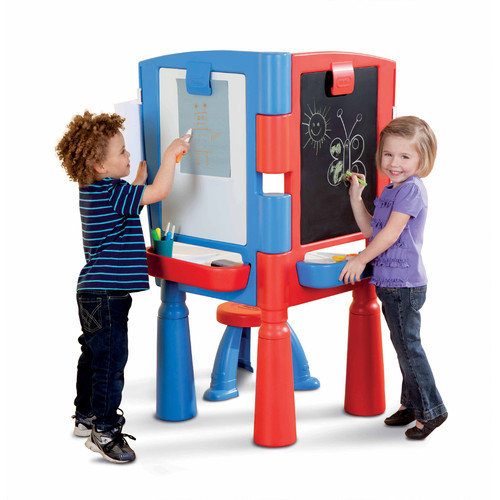 Little Tikes 2 In 1 Art Desk And Easel Walmart Com