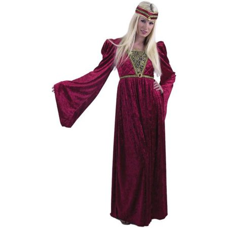 Adult Wine Renaissance Queen Costume - Teen Renaissance Costumes