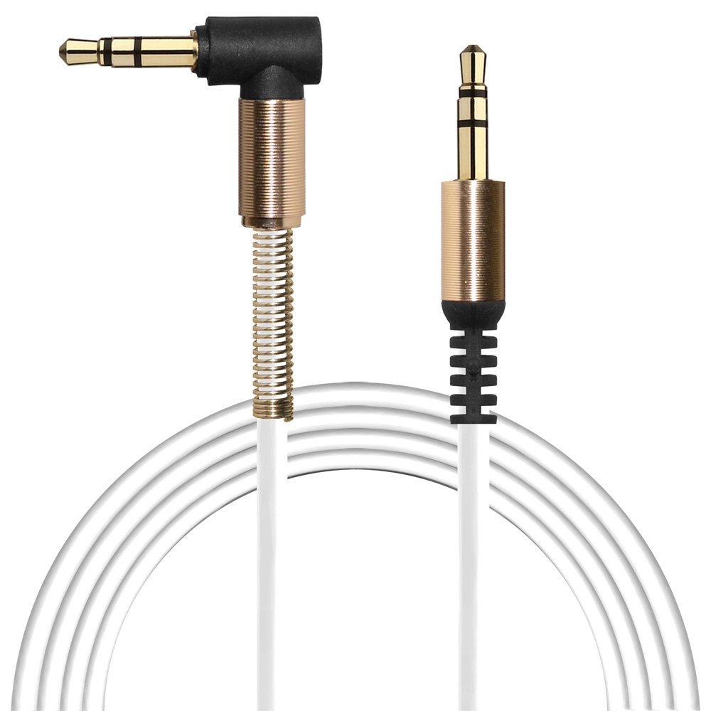 Aux Cable 2 Pack 3ft Copper Shell Hi Fi Sound