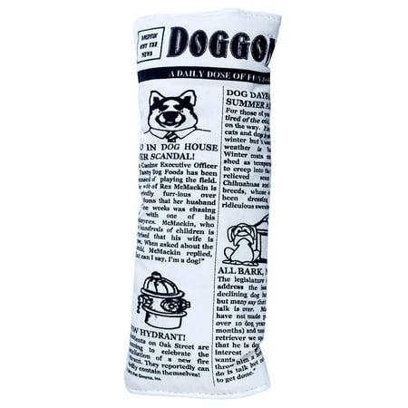 Plush Squeak And Krinkle Newspaper Large