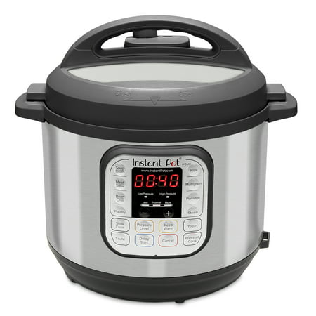 Instant Pot DUO60 6 Qt 7-in-1 Multi-Use Programmable Pressure Cooker, Slow Cooker, Rice Cooker, Saut, Steamer, Yogurt Maker and Warmer