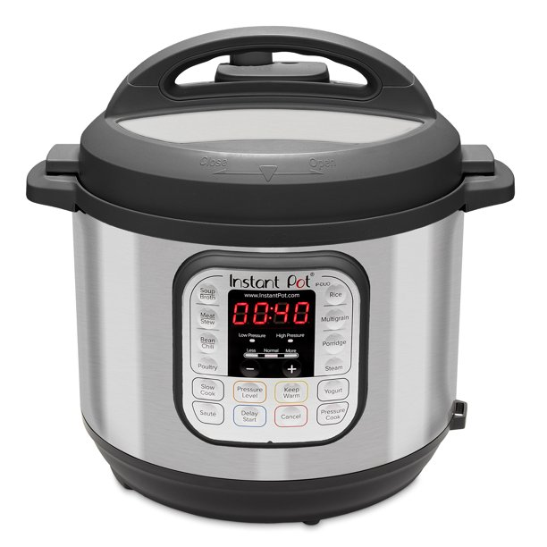 Instant Pot Duo60 6 Quart 7 In 1 Multi Use Programmable Pressure Cooker Slow Cooker Rice Cooker Sauté Steamer Yogurt Maker And Warmer Walmart Com Walmart Com