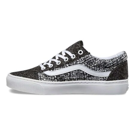 Vans Womens Old Skool Cup (Luxe Tweed) Fabric Low Top Lace Up Fashion Sneakers