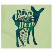 Tee Shirt-Fawned (Youth)-Small-Mint Green