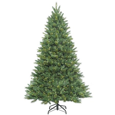 10 ft. x 68 in. Dixon Mixed Pine Artificial Christmas Tree with 1300 Warm White LED Lights](Thumbprint Wedding Tree)