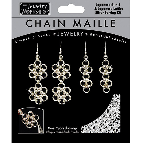 The Jewelry Workshop 744-306-04 Chain Maille Jewelry Kit