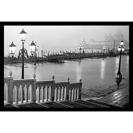 - buyartforless Grand Canal Steps Venice Italy Framed Wall Art
