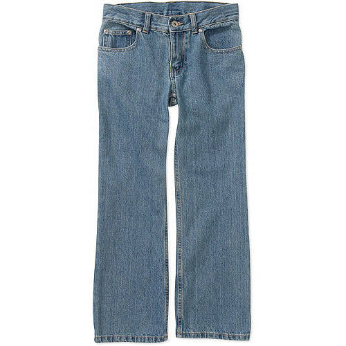Faded Glory Husky Boys' Bootcut Denim Jeans