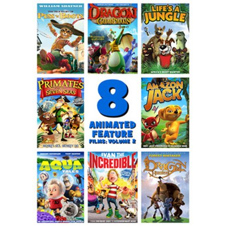 Animated Feature Films (8 Feature Compilation: Animated Volume 2 (DVD) )