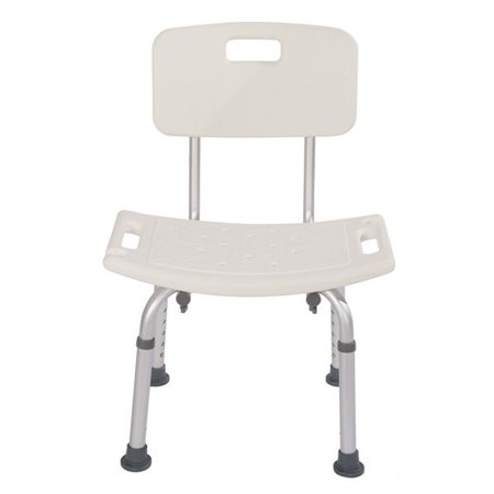 JOYFEEL Hot Sale 2019 Shower Chairs and Stools Heavy Type Adjustable Aluminum Alloy Old People Shower Chair Bath Chair White Shower Chair for Bathtub](Baby Shower Chairs For Sale)