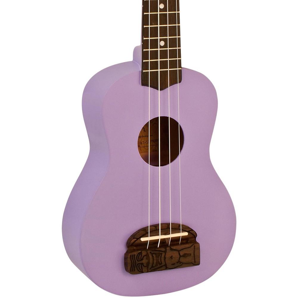 Kohala Tiki Uke KT-S Soprano Ukulele (Passion Purple)