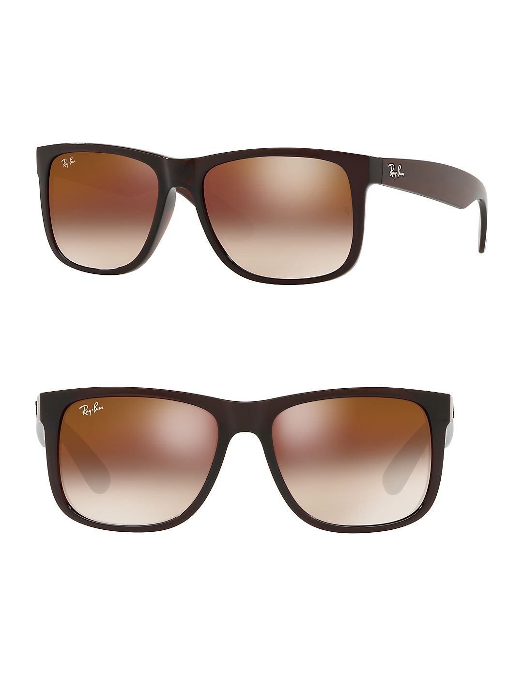 Transparent Rectangle 54mm Sunglasses