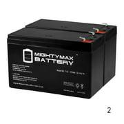 12 Volt Lawn Mower Batteries