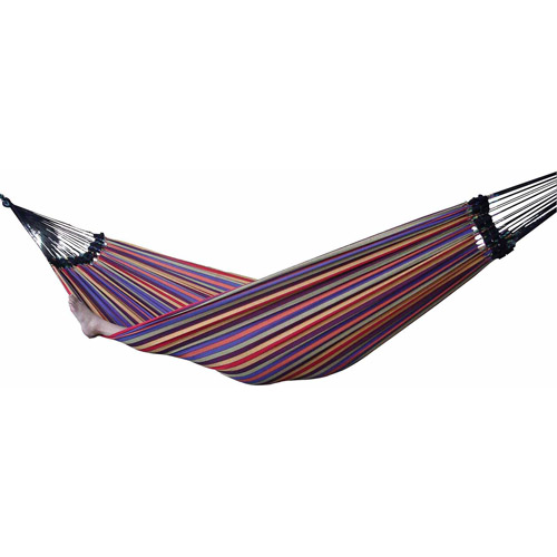 Vivere Brazilian Style Single Cotton Hammock with Carrying Bag, Jewels | BRAZ106 by Vivere LTD